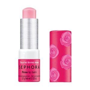 5 FOR $25! SEPHORA Rose Lip Balm